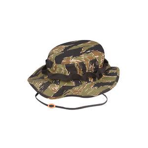 55be6467684 Vietnam Tiger Stripe Boonie Hat by TRU-SPEC 3215 - 100% Cotton ...