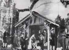 Krippe im Kloster Neustift Südtirol - Weihnachtskrippe - Krippenstall um 1940