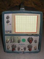 tektronix t922 analog oscilloscope ebay rh ebay com Tektronix TDS 2012 Manual Fluke Multimeter Manual