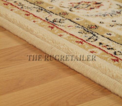 217W A Traditional Wool Pile Wilton Rug Large Sizes Wool Classic Rugs In Cream
