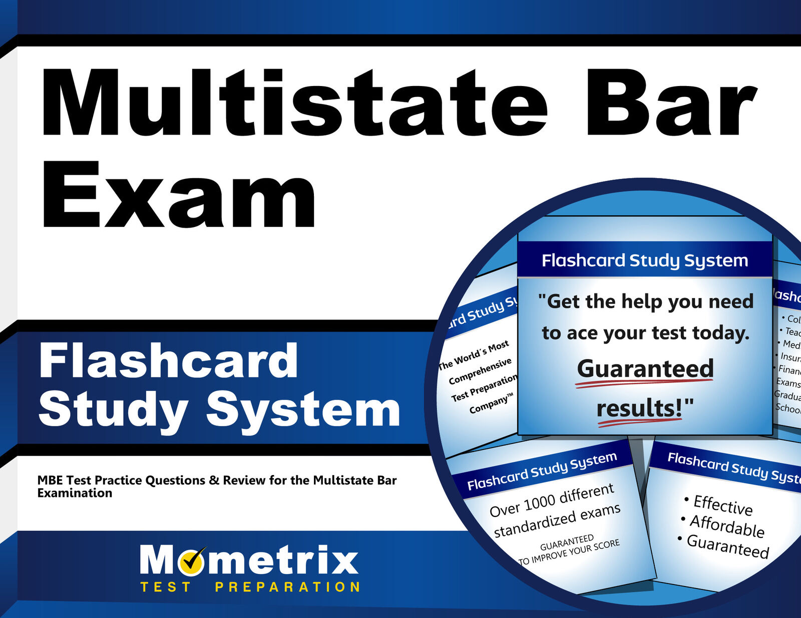 Multistate Bar Exam Flashcard Study System : MBE Test Practice Questions  and Review for the Multistate Bar Examination (2015, Cards,Flash Cards)