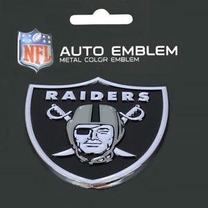 Oakland-Raiders-Heavy-Duty-Metal-3-D-Color-Auto-Emblem