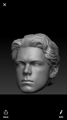 7of9 custom head sculpt black series