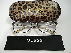 d9c5f465e7a Guess GU2550 GU 2550 049 Matte Dark Frame Rx-Able Eyeglasses ...