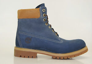 Timberland-6-pulgadas-Premium-Boots-Waterproof-Botas-De-Hombre-cordon-9653b