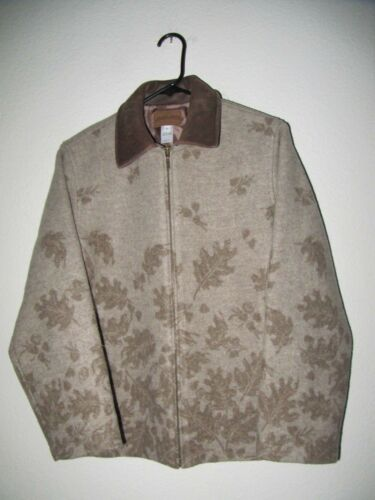 S Women's Size Pendleton Kvinder 42 Tweed Jacket Type Full S Type Tweed Zip 42 Pendleton Jakke Størrelse Zip Fuld aZ01wqa