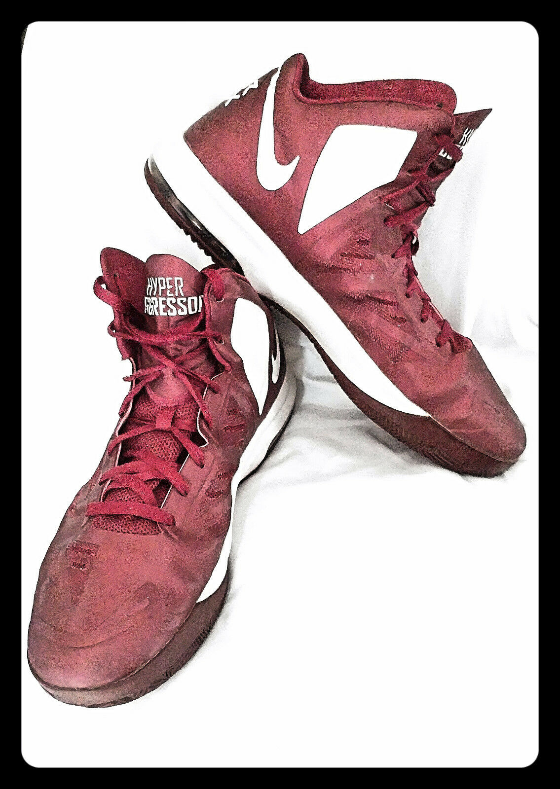 The most popular shoes for men and women MENS RED AND WHITE ATHLETIC NIKE'S SNEAKERS SIZE 16