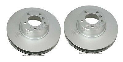 For BMW E39 525i 528i Pair Set of 2 Rear Disc Brake Rotors ATE Coated SP20154