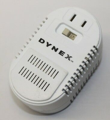 Dynex DX-TCADPT 220//240V to 110//120V AC Converter Power Supply Adapter 50 Hz.