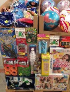 lot revendeur destockage D une palette de 140 jouets neuf tous types