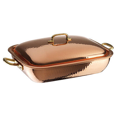 Paderno Tegame Rettangolare Rame Bake Roasting Pan Copper Serie 15300-15400