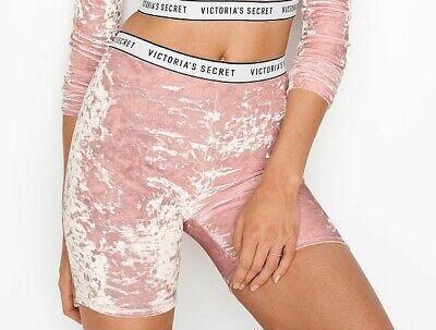 velvet pink shorts victoria's secret