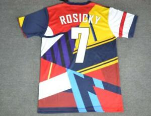 official photos f3a7b 8108b Details about ARSENAL FA CUP FINAL 20th Anniversary retro shirt, ROSICKY,  Sizes S M L XL