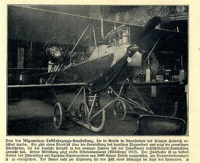 Albatros Militärausführung Auf Der Berliner Luftfahrzeugs-ausstellung Von 1912 Sales Of Quality Assurance Bilder & Fotos