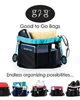 G2g Bag Organizer Insert Reversible Utility Tote Purse Travel Storage Backpack