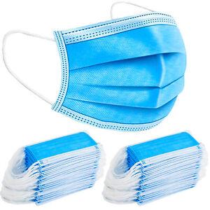 50x Einwegmaske BIG Pack Maske Mundbedeckung Mund-Nasen-Sch