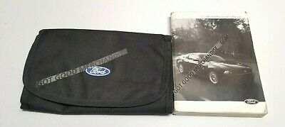 ford mustang owners manual sport gt coupe convertible