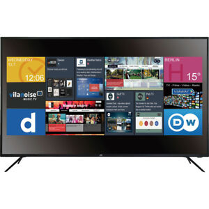 JAY-TECH-Genesis-UHD-5-5-Smart-TV-DVX5S-55-Zoll-Flachbildfernseher-DEFEKT