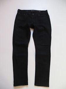 Levi-039-s-Demi-CURVE-Skinny-Jeans-Hose-W-34-L-32-Schwarz-Black-Stretch-Denim
