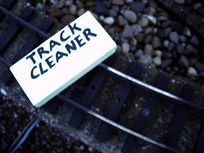 1 Off Metal Railway Cleaner Block, Sii Amichevole In Uso