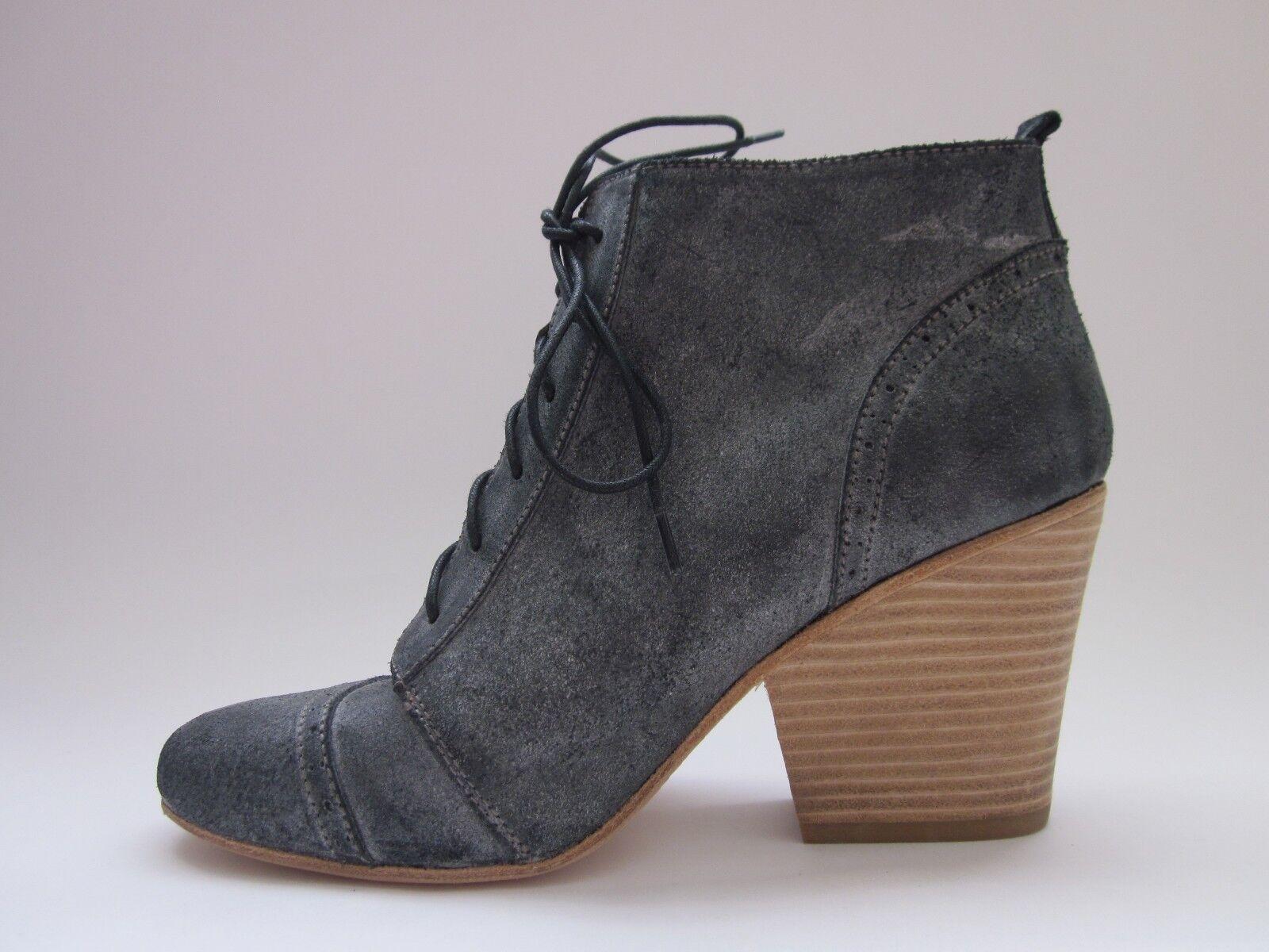 Fiel Fiel Fiel Thibault Fashion Ankle Boots Black Rubbed Women's 9.5 a9a6ab