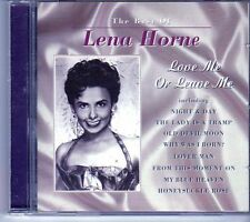 (EI644) The Best Of Lena Horne, Love Me Or Leave Me - 2001 CD