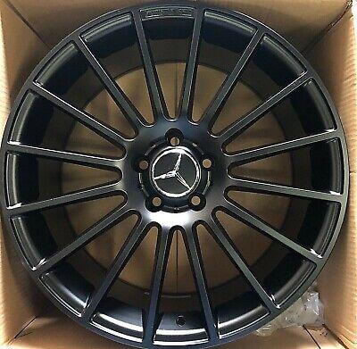 Mercedes Benz Rims >> 19 Amg Oem Genuine Mercedes Benz Wheels Black Rims C250 C300 C350 C400 C450 C Cl Ebay