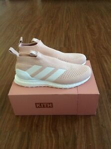 new product c0598 17233 Details about KITH X ADIDAS SOCCER ACE 16+ PURECONTROL ULTRABOOST SZ 11.5.  Flamingo white
