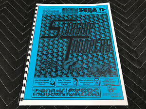 NEW Sega Starship Troopers Pinball Machine Parts Schematics Manual Starship Schematics on