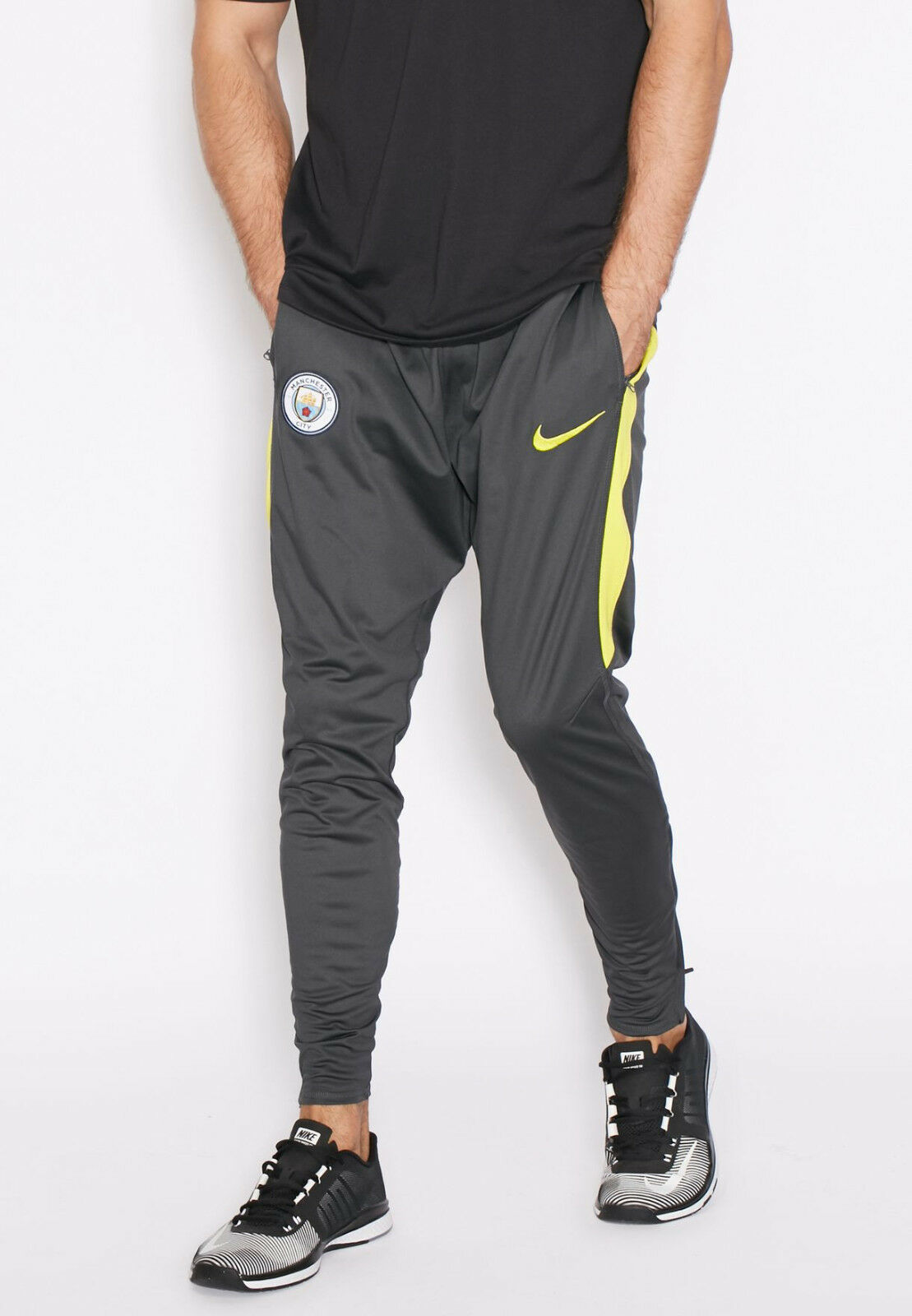 Nike 2016-2017 Uomo City Squad Squad Squad Training Pants Grigio Taglia S 809707 060 51f1d9