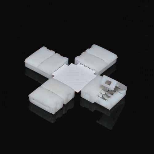 P/&T Clip-on Coupler Connector 2//4pin RGB for 3528 5050 LED Strip Light SP