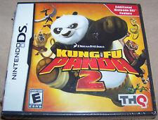 DreamWorks Kung Fu Panda 2 Game (Nintendo DS, THQ) - BRAND NEW SEALED FREE SHIP!
