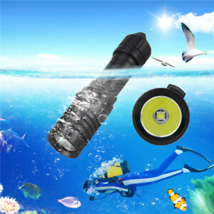 Underwater-5000Lumen-XM-L2-LED-Scuba-Diving-18650-Battery-Flashlight-Torch