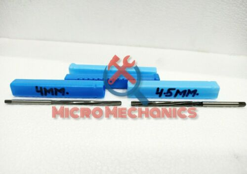 """4.5MM HSS Valve Stem Guide Reamers Spiral Fixed 4/"""" Long India/'s Best 4MM"""