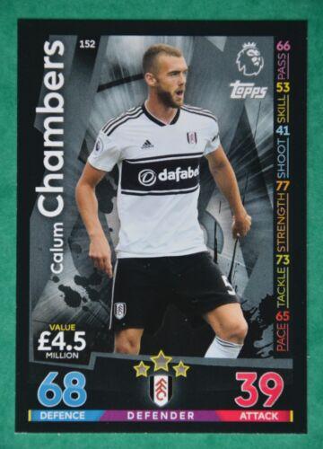 Match Attax 2018-2019 Fulham tarjetas seleccione el tarjetas que necesita;