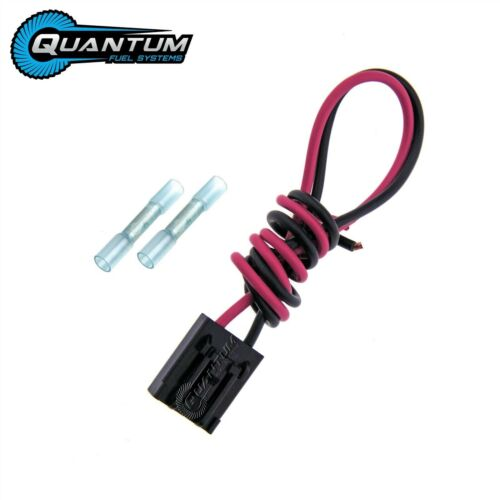 QFS 255LPH GSS341 Wiring Plug Connector Pigtail Clip 2 Butt Connectors WH8001