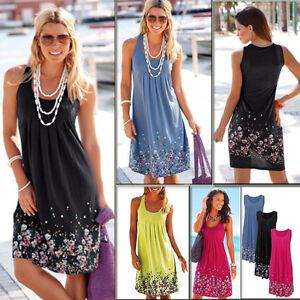 Summer-Women-Boho-Floral-Sleeveless-Sundress-Beach-Evening-Party-Dress-Plus-Size