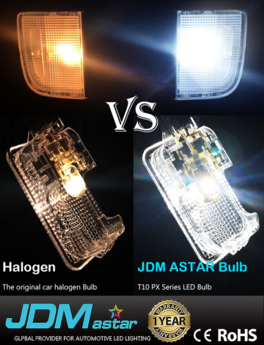 JDM ASTAR 6x 33-SMD 42mm White LED License map dome door Lights Bulbs 211-2 578