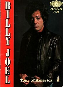 BILLY JOEL 1979 TOUR OF AMERICA CONCERT PROGRAM BOOK BOOKLET / EX 2 NMT