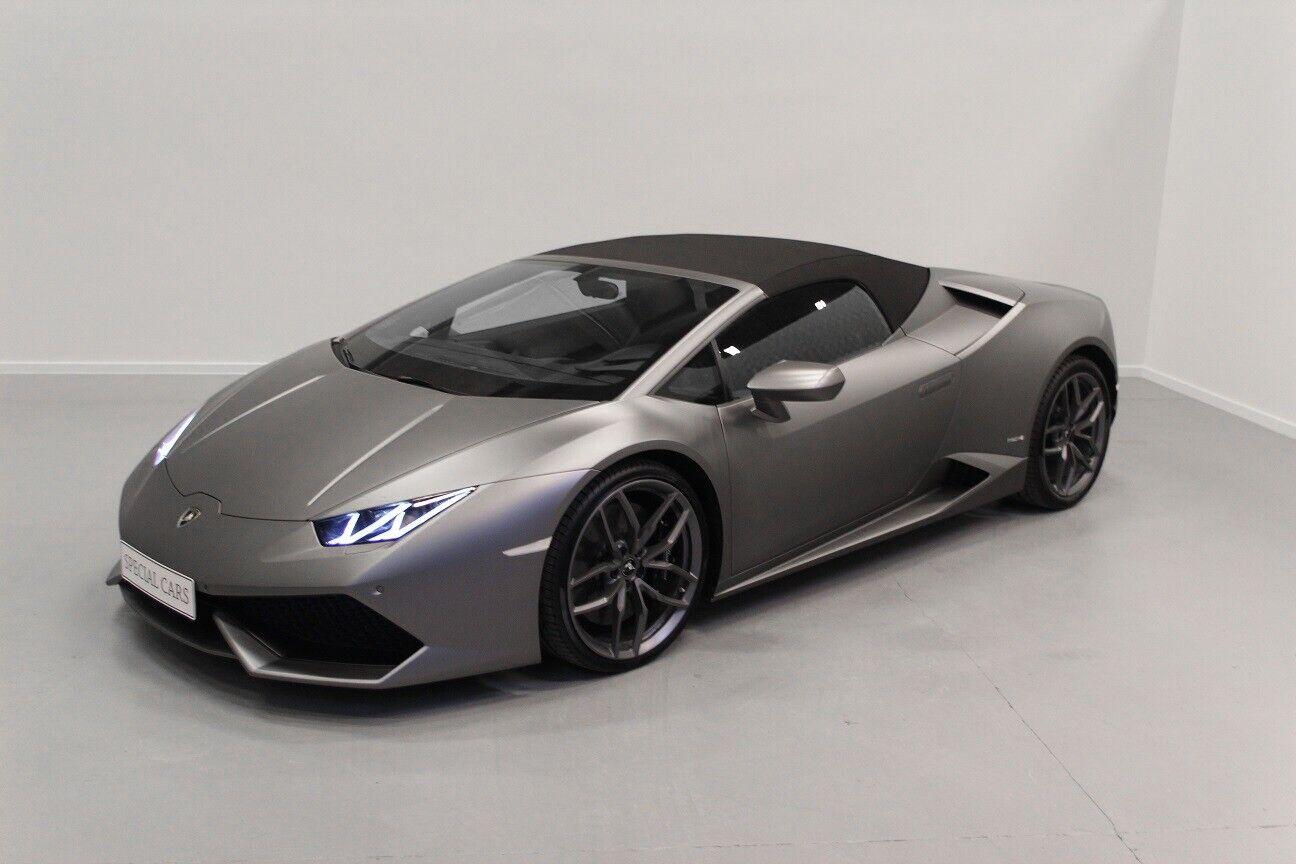 Lamborghini Huracan 5,2 Spyder LP 610-4 2d
