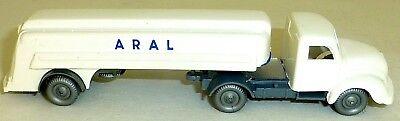 Cars Earnest Aral Magirus 3500 White Trailer Truck H0 1:87 Å Good Taste