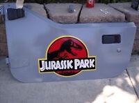 Jurassic Park Safari Jeep Crests Dinosaurs Decals