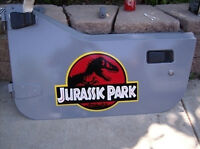 Jurassic Park Safari Jeep Crests Dinosaurs Decals