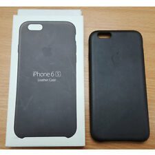 Official Genuine Apple iPhone 6s Leather Case Black MKXW2ZM/A
