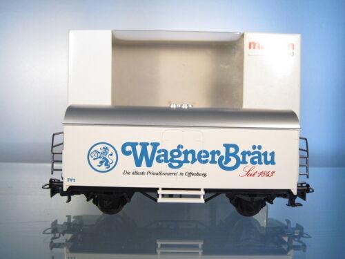 Märklin cervecería werbewagen wagner Brau abiertamente Castillo