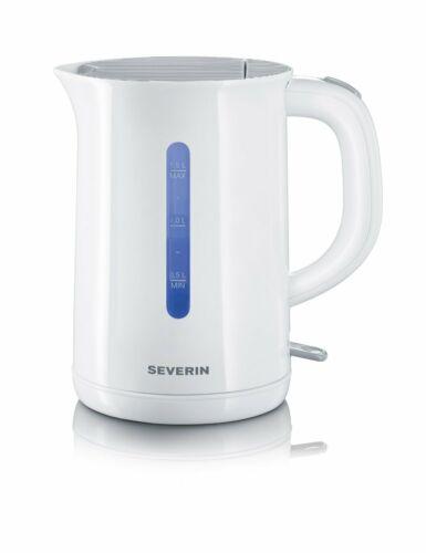 1.5 Liter weiß kabellos Severin WK 3412 Wasserkocher