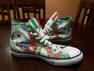 NEW Mens CONVERSE 135850C Italy Edition Chuck Taylor All Star Hi Sneakers Shoes