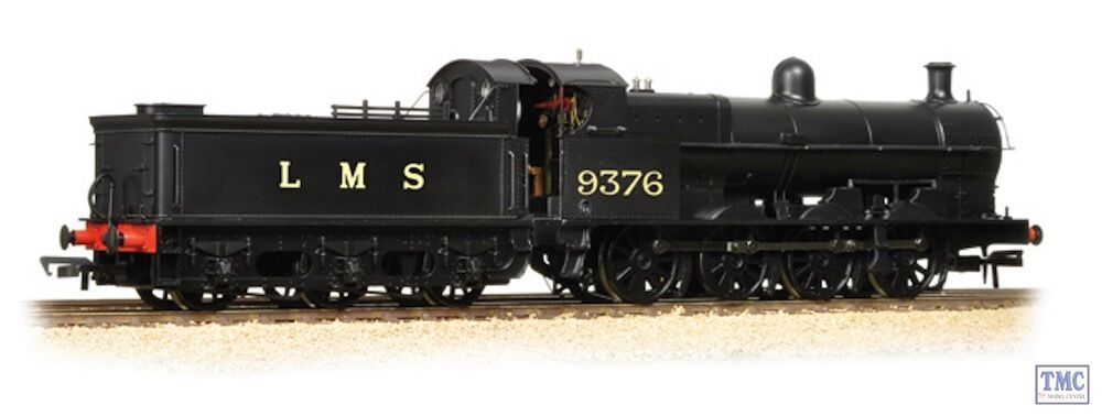 31-480 Bachmann OO Gauge G2A 9376 LMS nero with Tender Back Cab