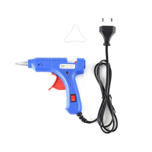 20W Elettrico Pistola Incollatrice Colla Caldo Termocollante Glue Gun DIY Casa