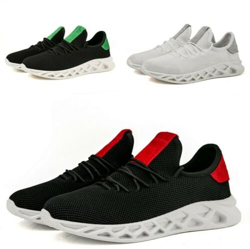 Men/'s Causual Lace Up Breathable Comfort Flats Round Toe Sneaker Shoes Vogue New